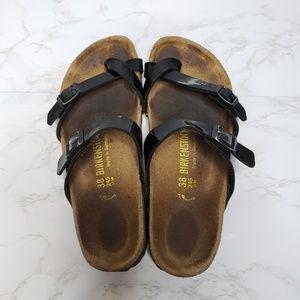 Birkenstock Mayari Black Patent Leather Sandals